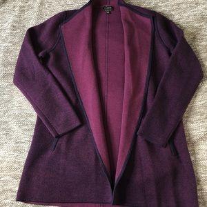 Talbots Merino Wool Duster Cardigan